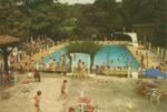 Pouillon – La piscine municipale en 1970 et aujourd'hui