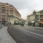 Dax - Rue Saint Vincent de Paul avant et après