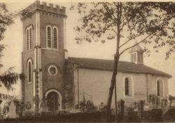 Église de Gaas vers 1950