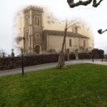Église de Gaas avant et après