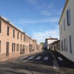 Luxey - Grande rue avant et après
