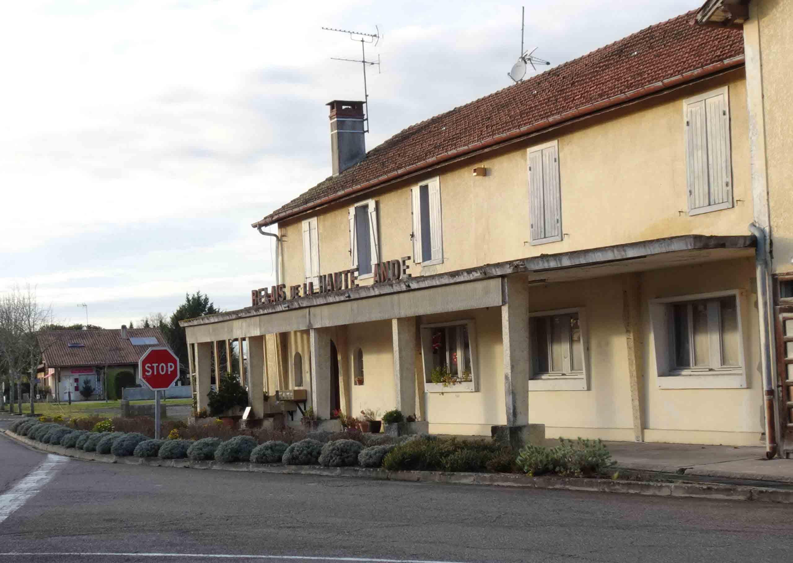 Luxey - Hotel de la gare en 2019