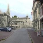 Pouillon - Rue Gambetta avant et après