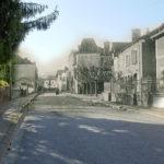 Pouillon - Rue de la Gendarmerie avant et après