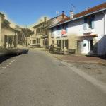 Pouillon - Rue de la Poste avant et après