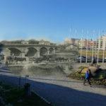 Dax - Pont du Sablar avant et après