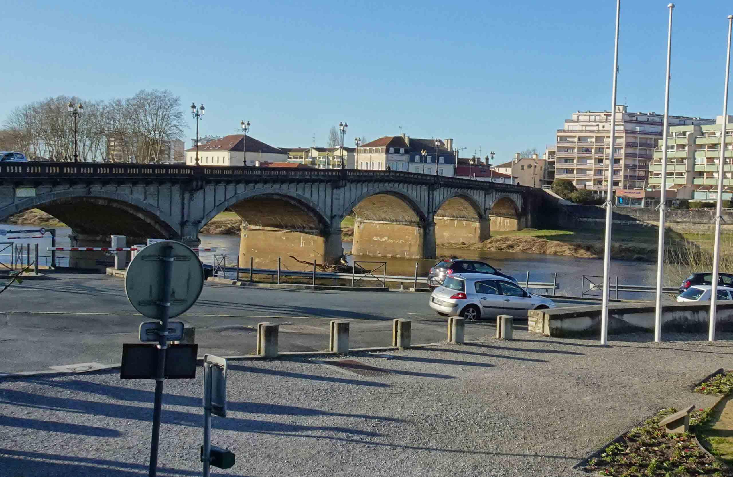 Dax - Pont du Sablar en 2020