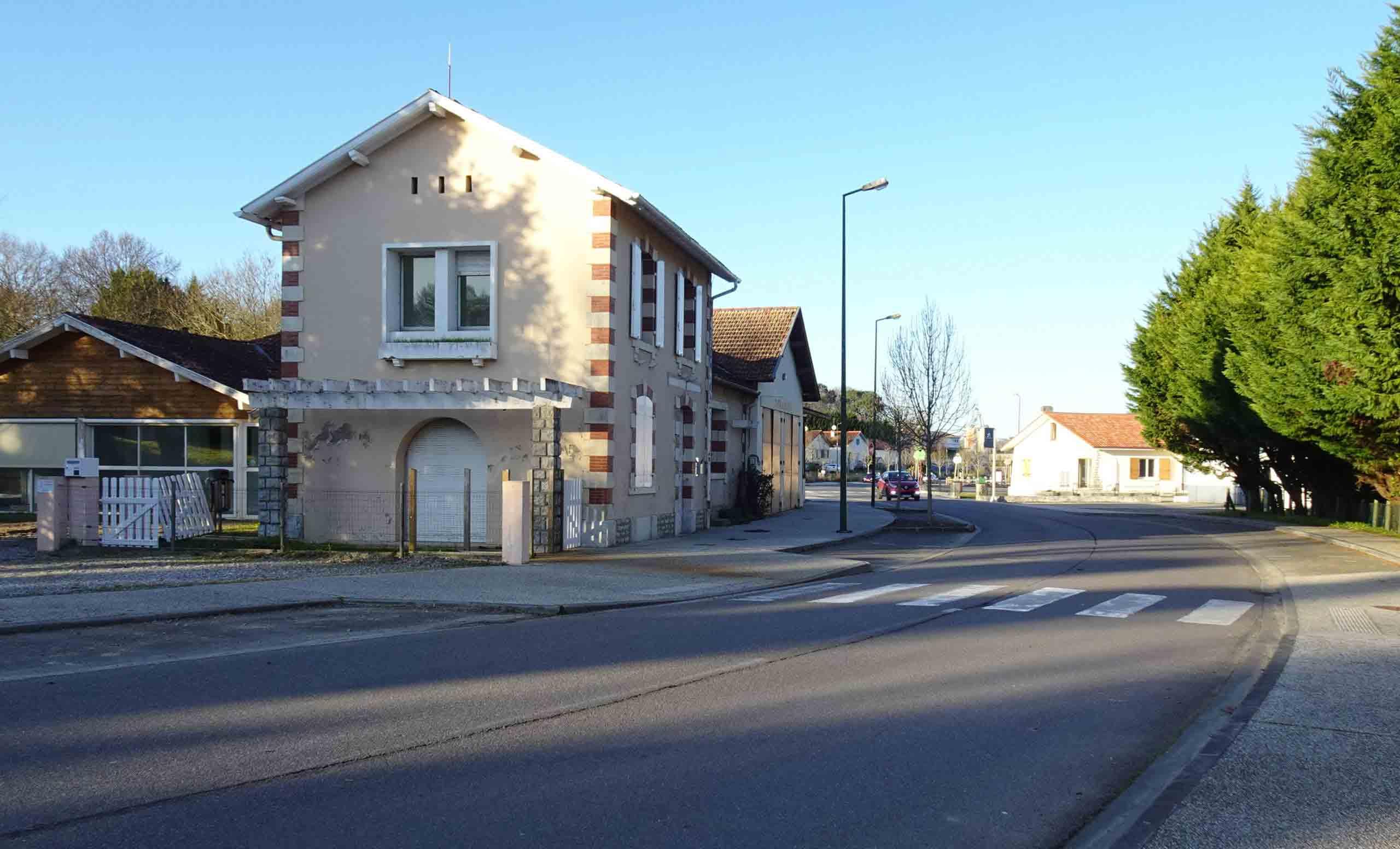 Pouillon - Gare en 2020