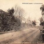 Pouillon Rails de l'Ancien Tram