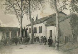 Heugas - L'école en 1911