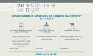 IGN - Remonter le temps