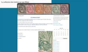 Blog des timbres au type Blanc