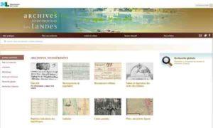 Archives départementales des Landes