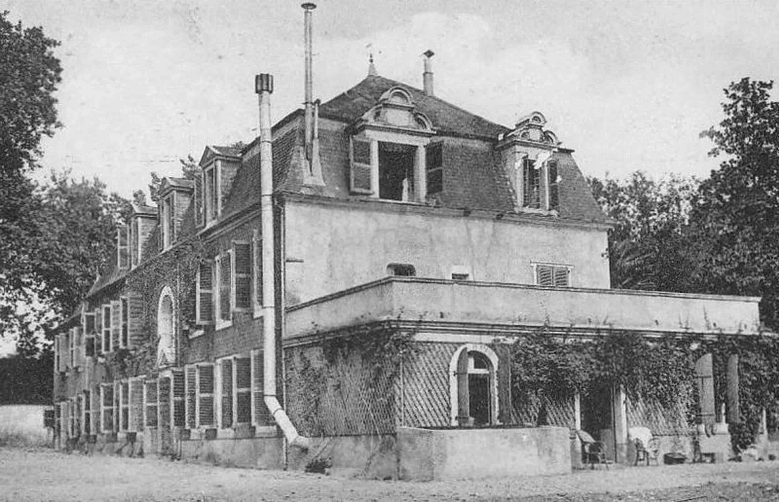Château de Mosqueros en 1930