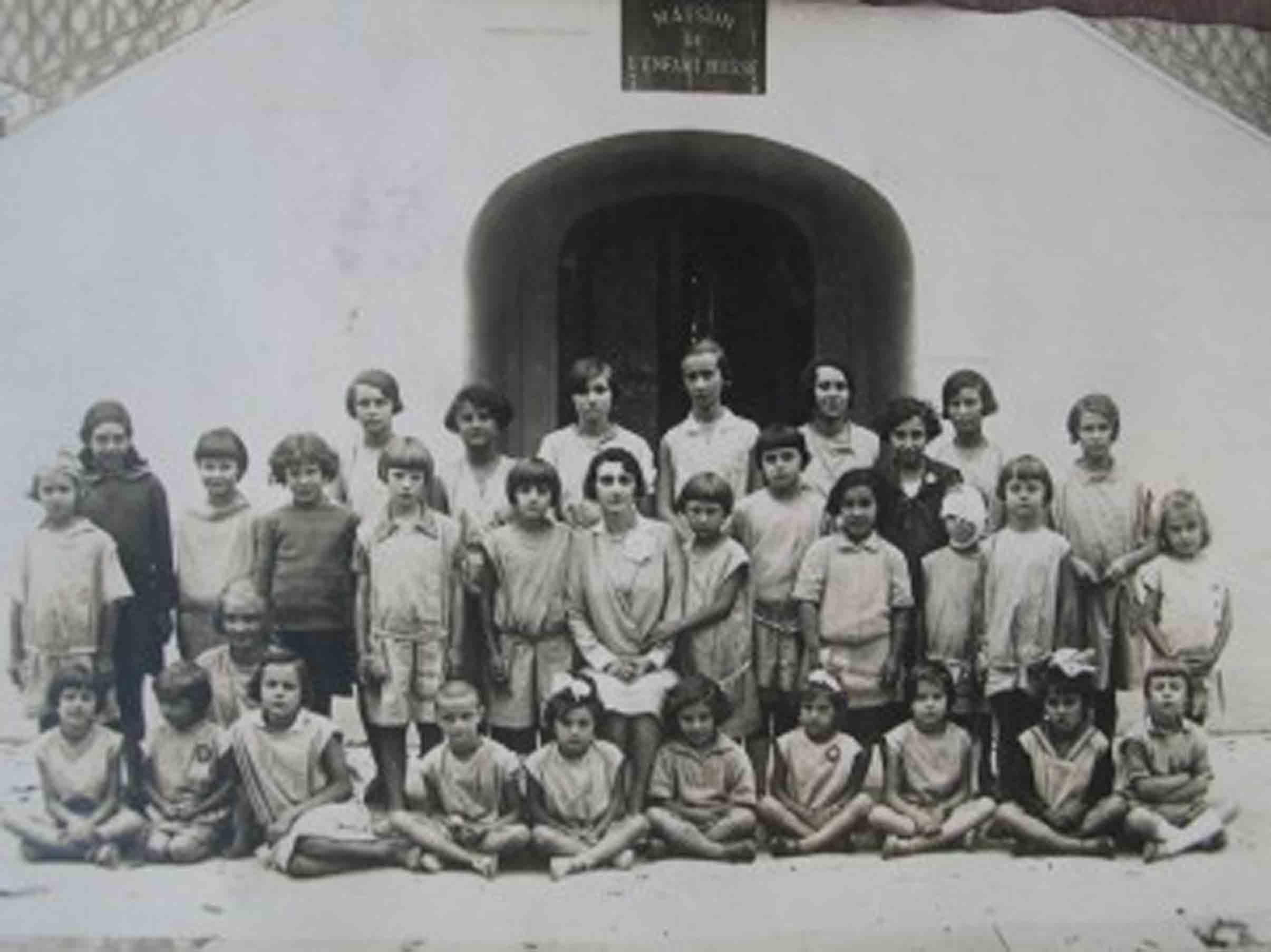 Maison de l'enfant russe dans les années 30
