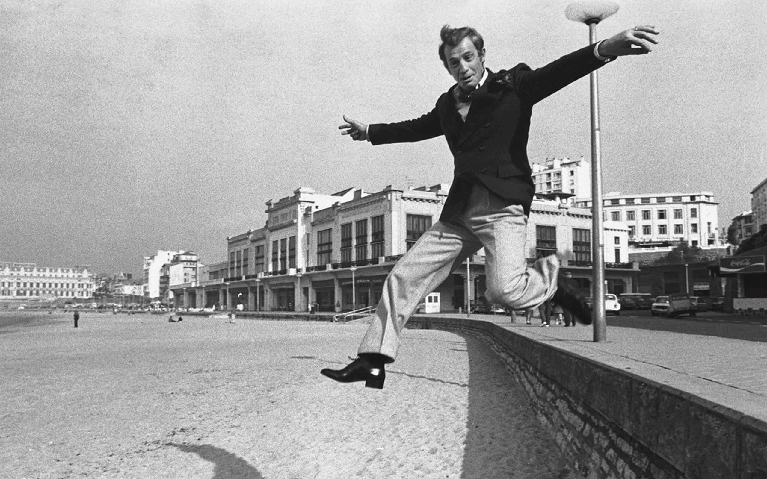 Jean-Paul Belmondo à Biarritz en 1973