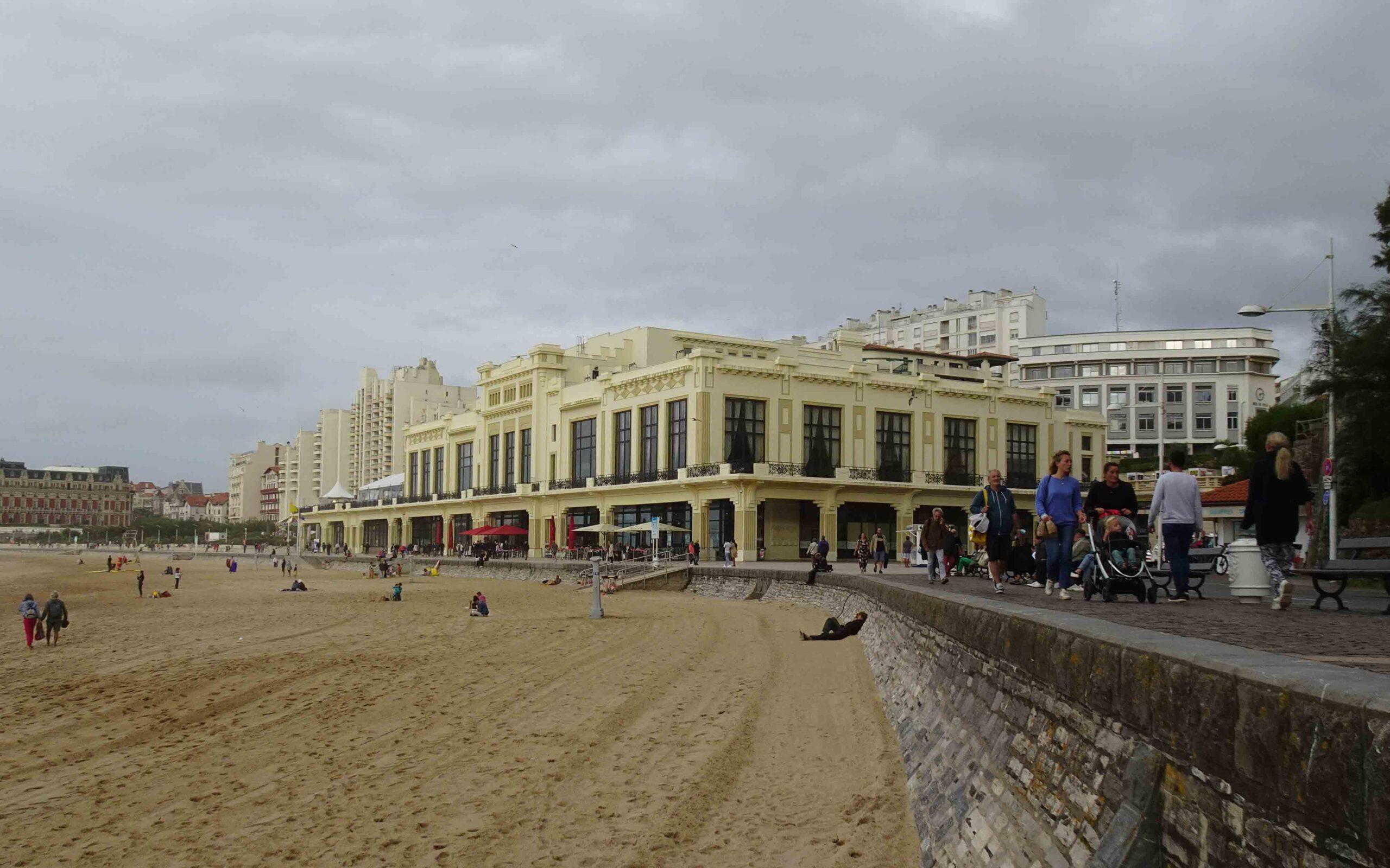 Jean-Paul Belmondo à Biarritz en 2021